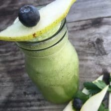 Ginger Green Jar Smoothie Recipe